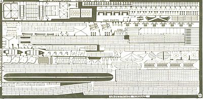 Toms IJN Destroyer Yukikaze Detail Set for HSG Plastic Model Ship Accessory 1/350 Scale #3563