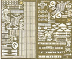 Toms 1/700 County Class Cruisers Detail Set for AOS