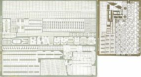 Toms USS Essex Detail Set for TSM & DML Plastic Model Ship Accessory 1/700 Scale #757