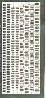 Toms IJN Naval Doors & Hatches Plastic Model Ship Accessory 1/700 Scale #762