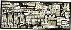 Toms USS South Dakota Class Detail Set for TSM Plastic Model Ship Accessory 1/700 Scale #767