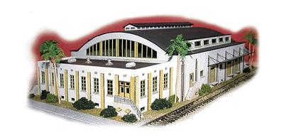 N-Scale-Arch Cal Fame Packing Kit N Scale Model Railroad Building #10006