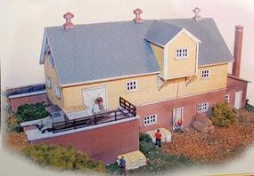 N-Scale-Arch Hanaford Mills Kit N Scale Model Railroad Building #10010