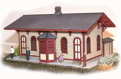 N-Scale-Arch Cranston Station Kit - N-Scale