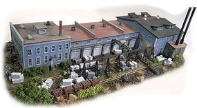 N-Scale-Arch Burlington Marble & Slate - Kit N Scale Model Railroad Building #10016