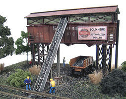 N-Scale-Arch Gravel & Coal Company Kit N Scale Model Railroad Building #10030