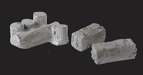 N-Scale-Arch Stone Columns & Block Stacks Kit Unpainted N Scale Model Railroad Building Accessory #20068