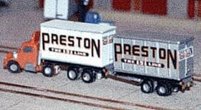 N-Scale-Arch 20 Trailer or Containers with 5 Different Decal Sets Z Scale Model Railroad Vehicle #30014