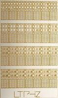N-Scale-Arch Two-Layer Pallets (28) Z Scale Model Railroad Building Accessory #30037