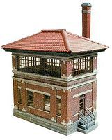 N-Scale-Arch Johnsonville Tower Kit (Laser-Cut Wood) HO Scale Model Railroad Building #40012
