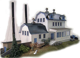 N-Scale-Arch Shefield Farms Creamery HO Scale Model Railroad Building #40015