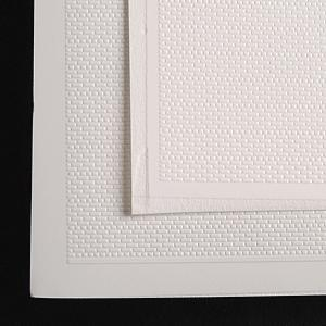 N-Scale-Arch Styrene Sheet (.020 x 11 x 14) pkg(2) HO Scale Model Railroad Building Material #50033