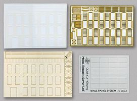 N-Scale-Arch Wall Panel System Starter Set Kit Modern Brick O Scale Model Railroad Buiding Supply #50067