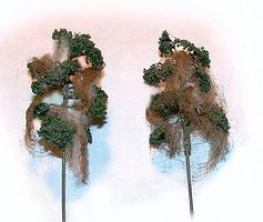 N-Scale-Arch Swamp Thing Cypress 6/ - Z-Scale (6)