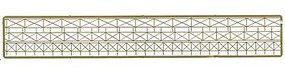 N-Scale-Arch Cross Bar Fence with Gate (3 styles) N Scale Model Railroad Building Accessory #61072