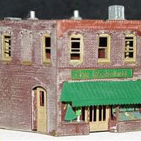 The N Scale Architect 2-Story Retail Store - Z-Scale