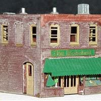 N-Scale-Arch 2-Story Retail Store - Z-Scale