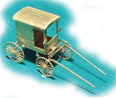 N-Scale-Arch Etched Amish Buggy - N-Scale