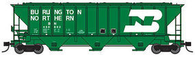 Trainworx PS2CD 4427 Covered Hopper BN #445349 N Scale Model Train Freight Car #2441103