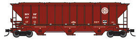 Trainworx PS2CD 4427 Covered Hopper BNSF #417790 N Scale Model Train Freight Car #2443906