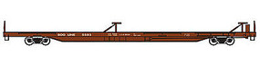 Trainworx PS 85 Flat Car Soo Line #5575 N Scale Model Train Freight Car #2851604