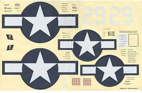 Top-Flite Decals Corsair .61 ARF