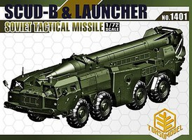 Toxso 1/72 Scud-B & Launcher Soviet Tactical Missile