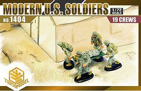 Toxso 1/72 Modern US Soldiers (19)