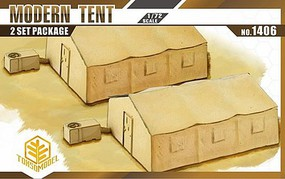 Toxso 1/72 Modern Tent (2) w/Heater/AC Unit