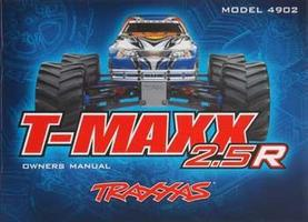 Traxxas Owners Manual T-Maxx 2.5R