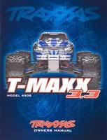 Traxxas Owners Manual 4908 T-Maxx 3.3