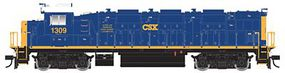 Trainman NRE Genset II Locomotive - Standard DC CSX #1309 (blue, yellow) - HO-Scale