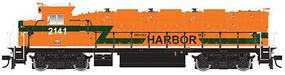 Trainman NRE Genset II Locomotive - Standard DC Indiana Harbor Belt #2141 Village of Bridgeview (orange, green) - HO-Scale