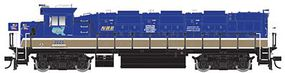 Trainman NRE Genset II Locomotive - Standard DC National Railway Equipment #2020 (Demonstrator, blue, gold, white) - HO-Scale