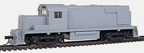 RS36 with Dynamic Brakes Undecorated HO Scale Model Train Diesel Locomotive #10001504