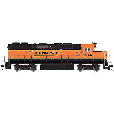Atlas Trainman EMD GP39-2 - Standard DC BNSF Railway #2946 -- HO Scale Model Train Diesel Locomotive -- #10001771