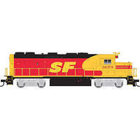 Trainman EMD GP39-2 w/Sound & DCC Santa Fe #3669 HO Scale Model Train Diesel Locomotive #10001789
