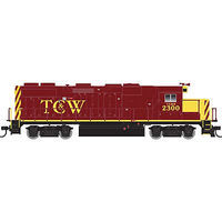 Trainman EMD GP39-2 Twin Cities & Western #2300 HO Scale Model Train Diesel Locomotive #10001792
