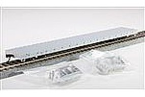 Trainman 62 Short Bulkhead Flatcar Undecorated HO Scale Model Train Freight Car #20000609