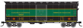 Trainman 40 Single-Door Express Boxcar Canadian National HO Scale Model Train Freight Car #20002526