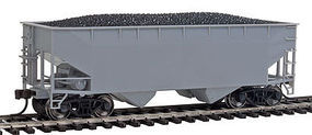Trainman 2-Bay Hopper Undecorated HO Scale Model Train Freight Car #20003137