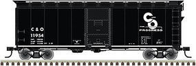 Trainman 37 40 Boxcar Kit Chesapeake & Ohio #11735 HO Scale Model Train Freight Car #20003787