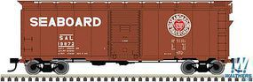 Trainman 40 Boxcar Kit - Seaboard Air Line #19872 HO Scale Model Train Freight Car #20003800