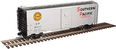 Atlas Trainman '37 40' Boxcar Kit Southern Pacific #163052 -- HO Scale Model Train Freight Car -- #20003801