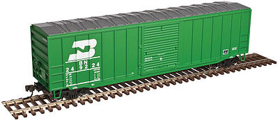 Atlas Trainman ACF(R) 50'6'' Boxcar Burlington Northern #249089 -- HO Scale Model Train Fregiht Car -- #20003888