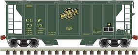 Trainman Ho PS2 CVD HOPPER C&NW 7333