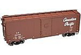 Trainman 1937 AAR 40 Boxcar Canadian Pacific 221755 HO Scale Model Train Freight Car #21000003
