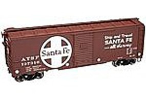 Trainman 1937 AAR 40' Boxcar ATSF 137277 HO Scale Model Train Freight Car #21000011