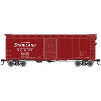 Trainman 1937 AAR 40 Single-Door Boxcar N,C,& St. Louis HO Scale Model Train Freight Car #21000058