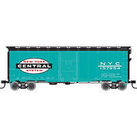Trainman 40 Single-Door Boxcar New York Central #157812 HO Scale Model Train Freight Car #21000061